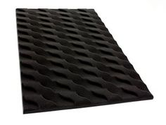 Acoustic Wave Foam    Providing a flowing design to mount in any space requiring sound treatment, Acoustic Wave panels create a striking visual effect that moves in every direction at once while absorbing and clarifying sound.