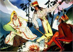 Zofia Stryjeńska geb. Lubańska (* 13. Mai 1891 in Krakau; † 28. Februar 1976 in Genf) war eine polnische Malerin, Grafikerin, Illustratorin, Bühnenbildnerin und Vertreterin der Art Déco