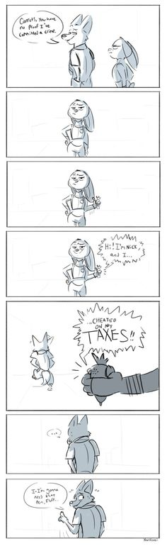 Zootopia - Cheating on Taxes by Beezii11 on DeviantArt