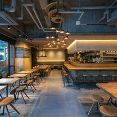 Bar Interior Design, Restaurant Interior Design, Cafe Interior, Restaurant Bar, Restaurant Lighting, Cafe Shop Design, Pub Design, Osaka Japan, Brewery Design