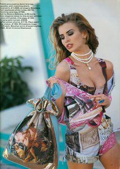 #NikiTaylor for UK Vogue