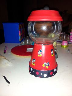 mickey mouse candy machine