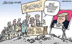 Political Cartoons of the Week: Refugee Ban