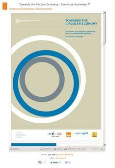 Towards the Circular Economy