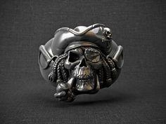 Ring skull pirate 3D Model .max .c4d .obj .3ds .fbx .lwo .stl @3DExport.com by d3dartist