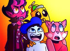 SuperPlanetDolan Draw The Squad 4 Collaboration by LaughterLover.deviantart.com…