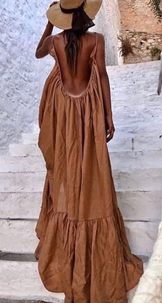 Boho Outfits, Summer Outfits, Fashion Outfits, Summer Dresses, Summer Maxi, Dress Fashion, Winter Dresses, Trendy Dresses, Day Dresses