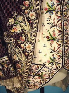 Antique Dress - Item for Sale French embroidery work.Exquisitely done.