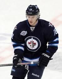 Bryan Little - #18 Winnipeg Jets Met him while I was in elementary school when he was captain for the OHL Barrie Colts