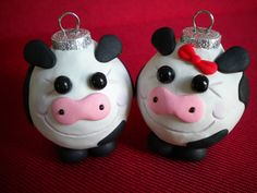 DIY cow ornament | Make | Pinterest | Cow, Ornament and Craft