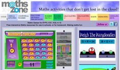 Online Numeracy Resources Part 3 Maths Resources, School Resources, Math Games, Math Activities, Math Websites, Online Sites, Numeracy, Eyfs, Fractions