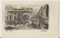 Bold Street  Liverpool Antique Unused Postcard by StarPower99, $3.00