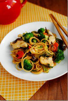Easy Chicken Lo Mein | Easy Cookbook Recipes