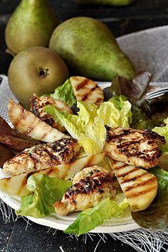 Przepisy na letnie sałatki - Damsko-męskie spojrzenie na kuchnię Zucchini, Salad, Meat, Chicken, Vegetables, Cooking, Bulgur, Kitchen, Cuisine