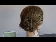 Hairstyles with pair of braids. Beautiful!