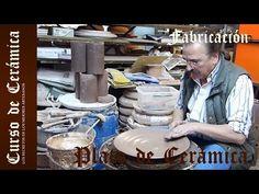 Curso de Cerámica - Fabricación de Plato de Cerámica Plano - YouTube