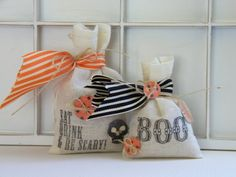 Loving these for a lil rustic and reusable bag!