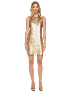 MICHAEL Michael Kors  Sequined Jersey Dress.... i want this for my xmas party!