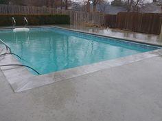 Before & Afters  Sonrise Gunite Pool  #gunite #poolcoping #concrete #rocksaltpittedfinish #poolreplaster #repair  #MikeFournierTulsa #SonriseConstruction https://sonrisegunitepools.com/
