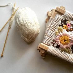 Broderie par Fleur Lyon Sewing Kit, Lyon, Textile Art, Weaving, Workshop, Textiles, Embroidery, Knitting, Crafts