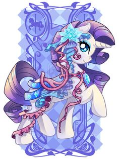 Rarity Carousel Cutie By amelie-ami-chan on deviantART