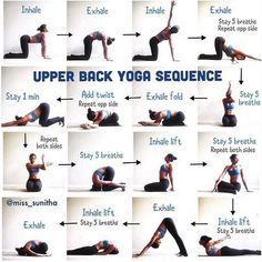 9 best upper back stretches images  upper back stretches