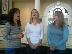 """Sisters sing an amazing acapella version of """"It Is Well"""" in the rotunda of the American Music Theatre 
