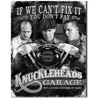 Three Stooges Knuckleheads Tin Sign  http://www.retroplanet.com/PROD/32818