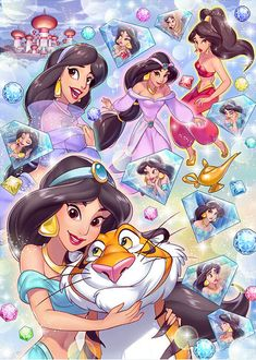Tenyo Disney Princess Jasmine Aladdin Tenyo Disney Japan Jigsaw Puzzle Origin : Japan (Made in Japan) Piece : 500 pcs Finished Size : 35 x 49 cm Remarks : . Disney Fan Art, Film Disney, Disney Nerd, Cute Disney, Disney Movies, Disney Jasmine, Disney Princesa Jasmine, Jasmine E Aladdin, Disney Princess Pictures