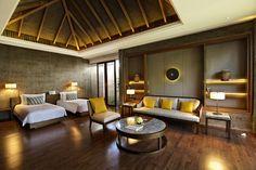 Regent Beachfront Pool Villa second Bedroom
