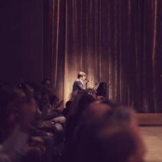 British musician Ed Harcourt performing 'Wandering Eye' at the Burberry A/W14 show