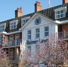 Balmer Lawn Hotel & Saltus Spa in Brockenhurst, Hampshire Balmer Lawn Hotel, Superior Hotel, New Forest, Isle Of Wight, Hampshire, San Francisco Skyline, Hotels, Spa, Holidays