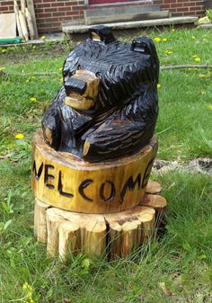 www.etsy.com/shop/stoneswoodcarvings  Chainsaw carvings, wood sculpture