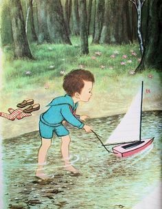 Gyo Fujikawa, illustrator of so many lovely children's books; this one from Busy Days