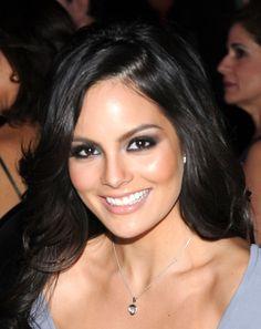 Ximena Navarrete, beautiful makeup