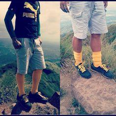 #PUMAs atop Mt. Batulao, Philippines #shoes #sneakers #travel #travelingpumas