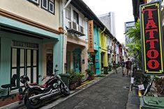 le quartier musulman Singapore, The Neighborhood, Muslim, Asia