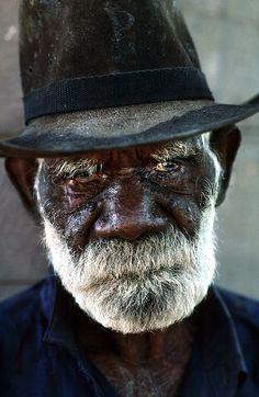 mysleepykisser-with-feelings-hid:     Robert Rallah, Elder of the Yaramun (Ringer's Soak) Aboriginal Community. The Kimberley Western Australia.©Photo by David Dare Parker