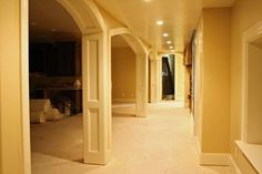 Columns from the dining room to living room??