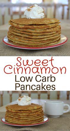 FitViews: KETO Sweet Cinnamon Pancakes