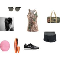 """work out"" by mercedesandhoss on Polyvore"