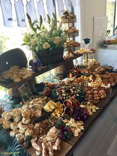 Fall Buffet Table Decorations Luxury Epic Grazing Table to Viktoria S Baby Shower by Petite events Hire Charcuterie And Cheese Board, Charcuterie Platter, Cheese Boards, Party Trays, Snacks Für Party, Party Buffet, Food Platters, Cheese Platters, Food Buffet
