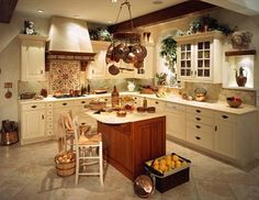 Kitchen Room:New Design Kitchen Breathtaking L Shape Tuscan Kitchen And Decoration Using Small Cherry Wood Kitchen Island Including White Wood Glass Door Kitchen Cabinet And White Granite Kitchen Counter Tops Beautiful 2017 Outstanding L Shape Kitchen Decoration Design Ideas