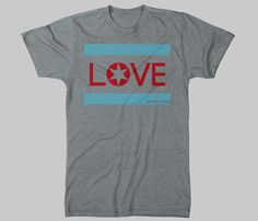 Love. It's a simple shirt and a complex concept.