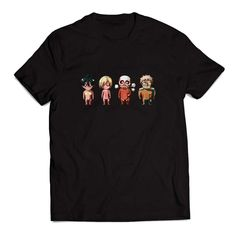 Attack on titan Clothing T Shirt Men