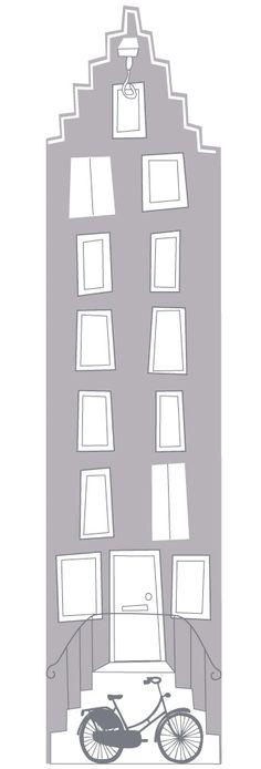Originele deursticker en muursticker voor de kinderkamer door Perron 11