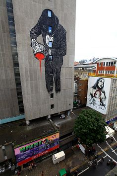 Bristol Street Art by Nick-Walker + El Mac + Ben Merrington