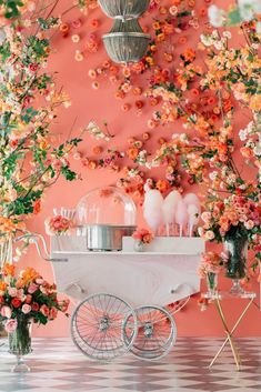 WedLuxe Magazine In Living Coral Floral Wedding, Wedding Colors, Wedding Bouquets, Wedding Flowers, Peach Wedding Theme, Wedding Mandap, Wedding Stage, Wedding Receptions, Wedding Dresses