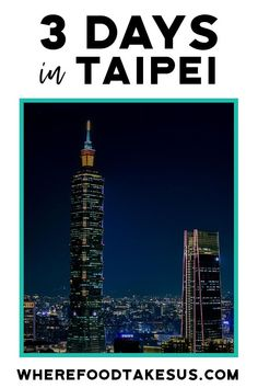 Spend an amazing 3 days in Taipei by following our complete itinerary! From soup dumplings to bubble tea to the lively and tasty night markets, experience the popular and the lesser-traveled Taipei. Day trips and hikes included as options as well! #TravelTaipei #TaipeiTourism #3DaysTaipei #TaiwanTravel #TaipeiItinerary Taipei Travel Guide, Taiwan Travel, Asia Travel, Solo Travel, Travel Tips, Travel Destinations, Wanderlust Travel, Travel Guides, Asia Cruise