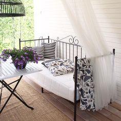 Good Morning! #munpiha #piha #terrace #terassi #myhome #sisustus #inredning #outside #summer2015 #kesä2015 #kesäpiha #koti #hjem #sisustus #interior